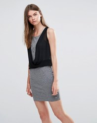 Pepe Jeans Witney Jersey Dress Grey 963