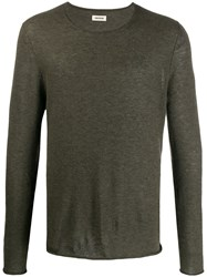 Zadig And Voltaire Fine Knit Long Sleeve Jumper 60