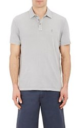 John Varvatos Star U.S.A. Peace Sign Polo Shirt Grey