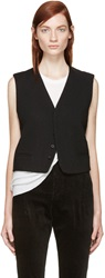 Haider Ackermann Black Wool Vest