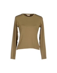 Rossopuro Long Sleeve T Shirts Military Green