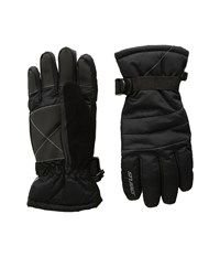 Seirus Jr Stitch Gloves Black Gray Extreme Cold Weather Gloves