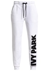 Ivy Park Tracksuit Bottoms White