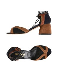Ottod'ame Sandals Brown
