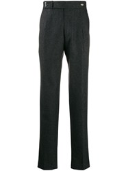 Tagliatore Straight Leg Trousers Grey