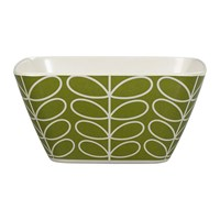 Orla Kiely Bamboo Bowl Linear Stem Seagrass