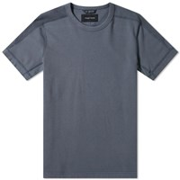 Wings Horns Short Sleeve Inverted Crew Sweat Grey