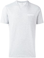 Brunello Cucinelli Chest Pocket T Shirt Grey