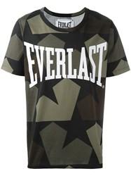 Ports 1961 Camouflage Print T Shirt Black