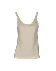 Acne Studios Sleeveless T Shirts Ivory