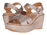 Kork Ease Ava 2.0 Soft Gold Women's Wedge Shoes