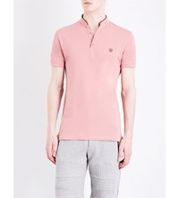 The Kooples Classic Fit Cotton Polo Shirt Pina2