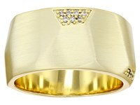 Kendra Scott Marnie Ring Gold Metal White Cubic Zirconia Ring