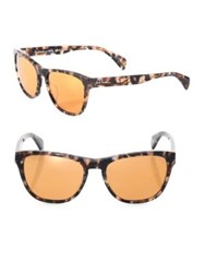 Paul Smith Hoban 55Mm Square Sunglasses Brown