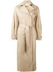 Dagmar Double Breasted Trench Coat Neutrals