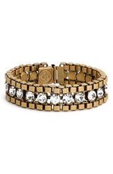 Loren Hope Women's 'Carly' Crystal And Chain Bracelet