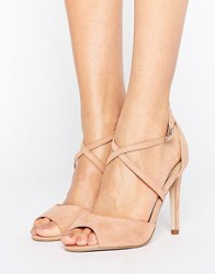 Miss Kg Ellis Strappy Heeled Sandal Dusty Pink Micro