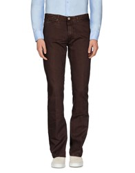 Tru Trussardi Trousers Casual Trousers Men Dark Brown
