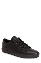 Blackstone 'Jm12' Sneaker Men Black Leather