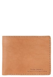 Nudie Jeans Callesson Wallet Natural Light Brown