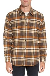 Filson Men's Vintage Plaid Cotton Flannel Shirt