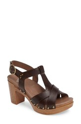 Dansko Women's Daniela Sandal Teak Vintage Leather