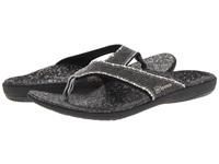 Spenco Yumi Sandal Black Canvas Men's Sandals