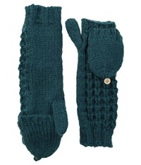 Coal The Kate Mitten Evergreen Wool Gloves
