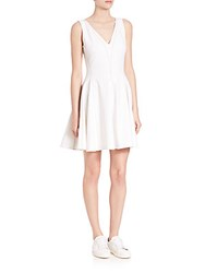 Opening Ceremony William Penn Fit And Flare Dress White
