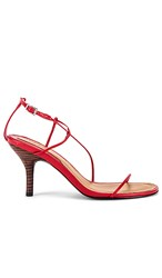 Jaggar Naked Sandal In Red.