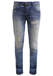 Only Onllise Relaxed Fit Jeans Medium Blue Denim