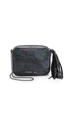 Lauren Merkin Handbags Hologram Meg Cross Body Bag Midnight