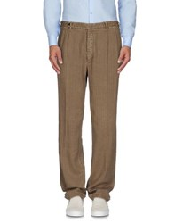 Piombo Trousers Casual Trousers Men Khaki