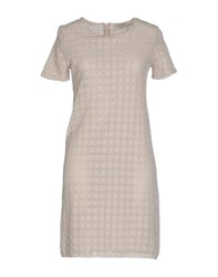 Alpha Massimo Rebecchi Dresses Short Dresses Women Beige