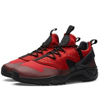 Nike Air Huarache Utility Gym Red And Black