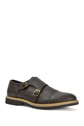 Joseph Abboud Jayden Monk Strap Loafer Brown