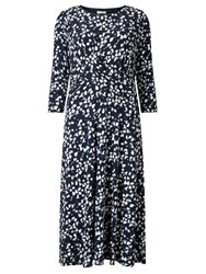 Eastex Monotone Print Dress Multi Coloured
