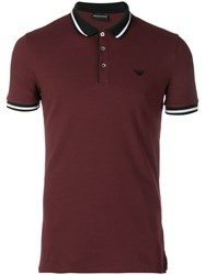 Emporio Armani Classic Polo Shirt Brown