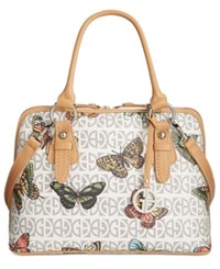 Giani Bernini Block Signature Butterfly Dome Satchel Only At Macy's