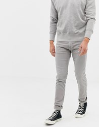 Replay Washed Grey Slim Jeans