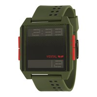 Vestal Digichord Watch Army Black Orange