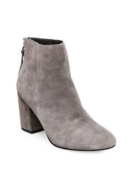Steve Madden Cynthia Suede Ankle Boots Grey
