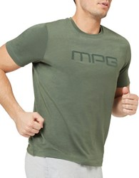 Mpg Salton Slim Fit Logo Tee Green