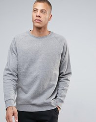Weekday Paris Melange Sweatshirt Light Grey Melange