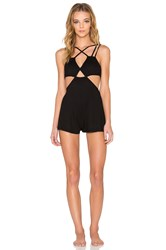 Rvca Only A Little Romper Black