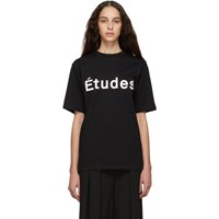 Etudes Studio Black Wonder T Shirt