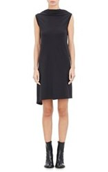 Ann Demeulemeester Cowlneck Dress Black Size 36 Fr