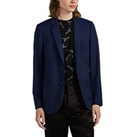 Paul Smith Wool Mohair Two Button Sportcoat Royal Blue