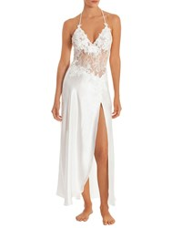 Jonquil Sutton Lace Bodice Nightgown Ivory