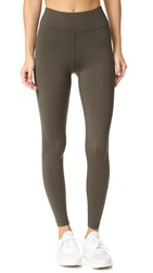 Koral Drive High Rise Leggings Military Green